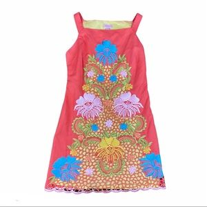 Lilly Pulitzer Jacqueline Fiesta Embroidery Dress